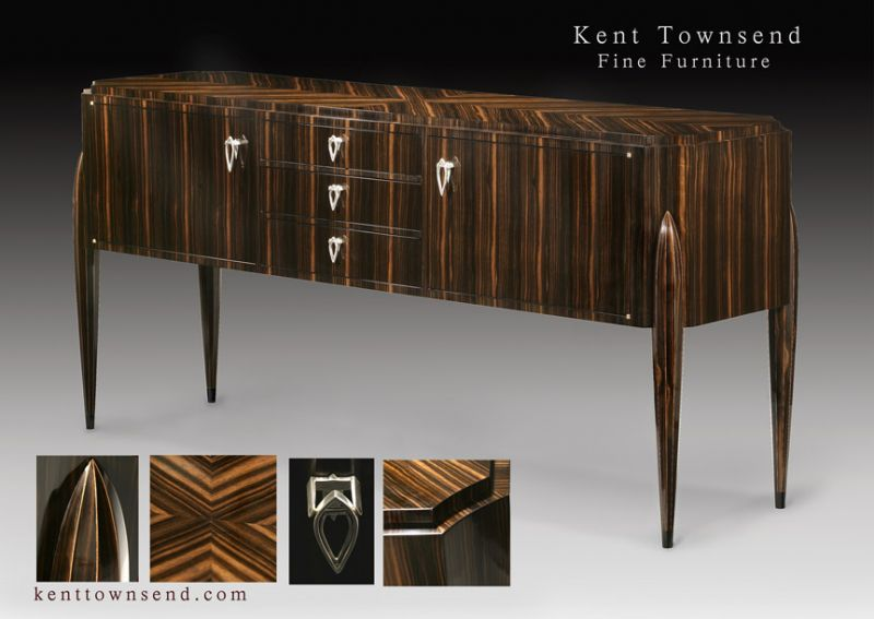 Honorable Mention   Furniture Art Deco Buffet Kent Townsend / Kent Townsend  Fine Furniture.