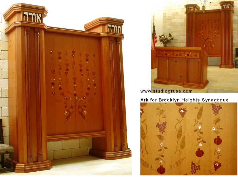 Cabinetry Category Winner Torah Ark, Brooklyn Heights Synagogue