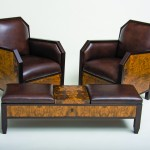 "Furniture"" Art Deco Club Chairs""