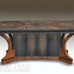 """Furniture""""Pedestal Dining Table"""" Joel ShepardJoel Shepard Furniture Click image to view larger or download"""