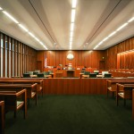 """Architectural Woodworking """"United States Courthouse for the District of Utah  Salt Lake City, UT"""" Fetzer Architectural Woodwork Click image to view larger or download"""