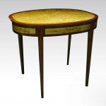 """Furniture """"Gated Leg Table"""" Michael Noll Click image to view larger or download"""